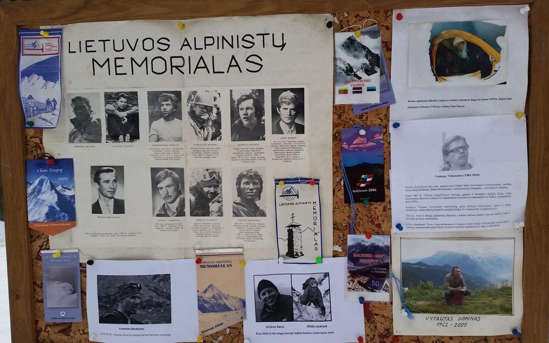 Kviečiame į tradicinį renginį, skirtą kalnuose žuvusiems alpinistams atminti