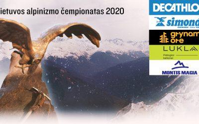 Lietuvos alpinizmo čempionato 2020 apdovanojimai